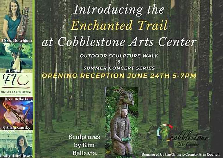 Enchanted Trail at Cobblestone Arts Center