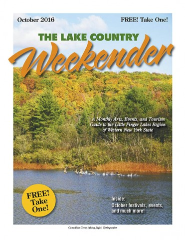 Cover of The Lake Country Weekender, October 2016